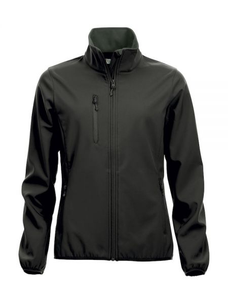 Basic Softshell Jacket Ladies schwarz