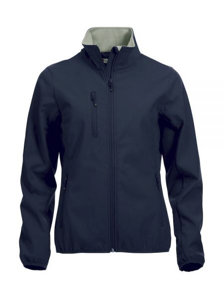 Basic Softshell Jacket Ladies blau
